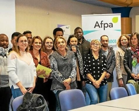 Programme Hope : 14 réfugiés signent un contrat de développement professionnel